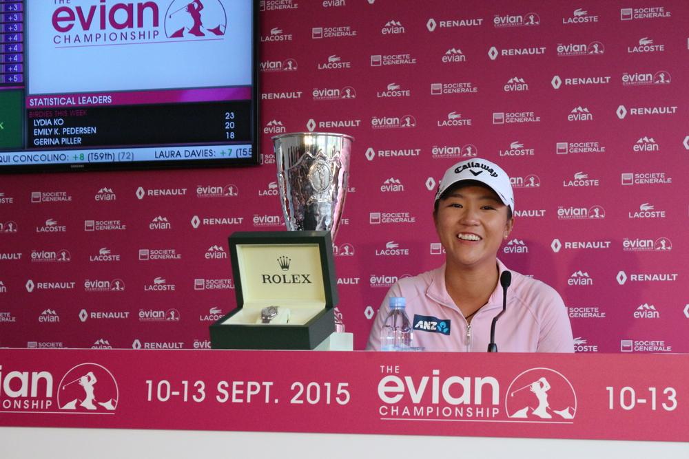 La numéro, 1 mondiale Lydia Ko  remet son titre en jeu