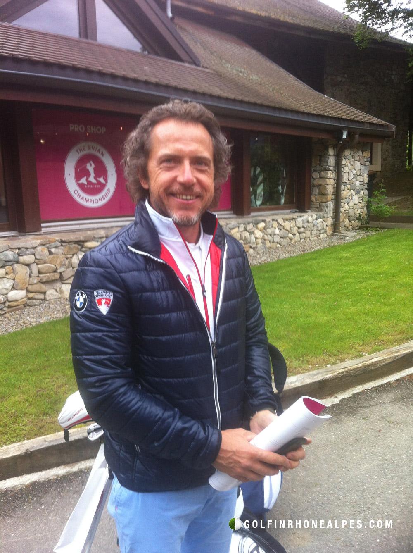 Philippe Guilhem créateur de la Megève Winter Golf
