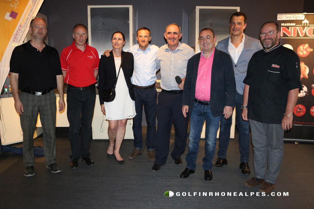 Les partenaires du Pro-Am Ville de Valence