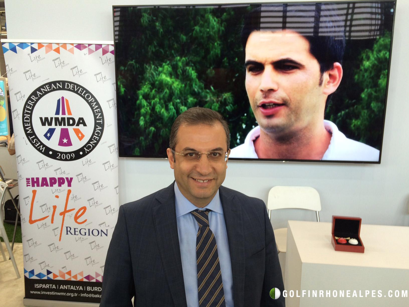 Muammer Tûrker Gouverneur de la Province d'Antalya