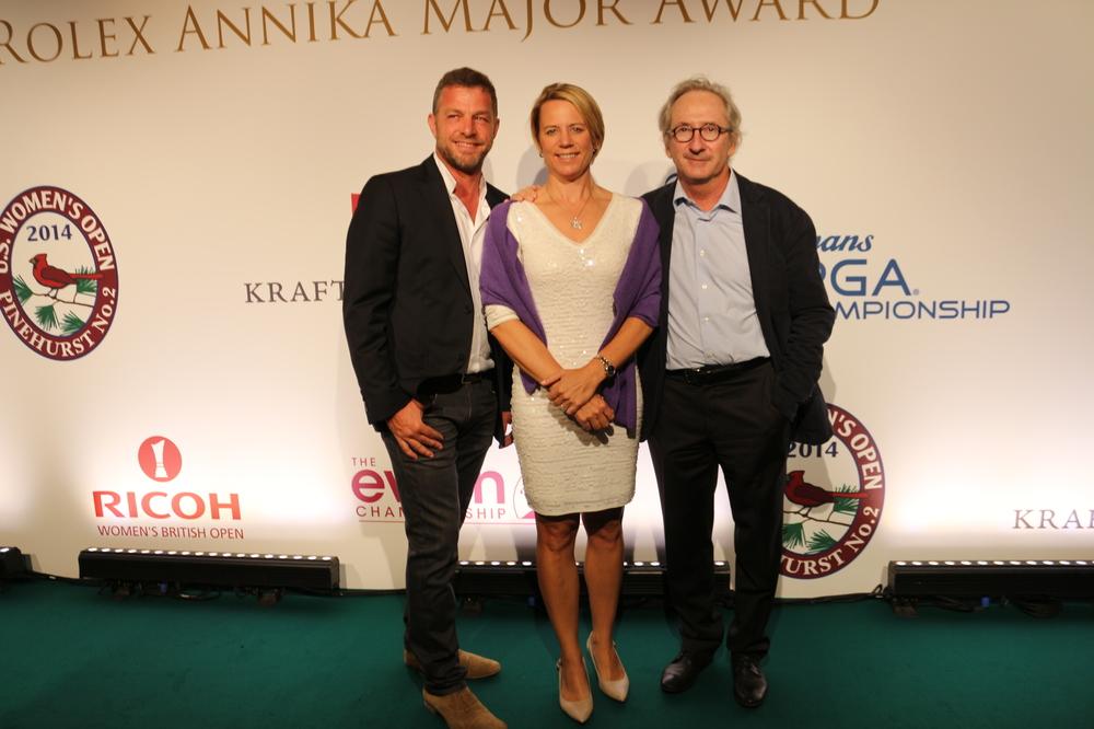 LE Rolex Annika Major Award , autre enjeu de cette édition 2018 de l'Evianchampionship