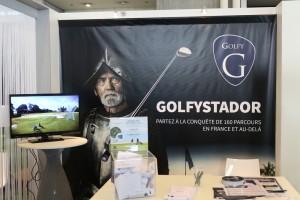 Golfy a créé l'événement avec Golfystador