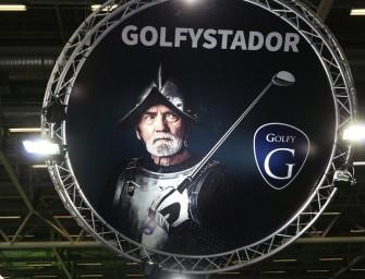 Salon du golf</br>Golfy en Conquérant