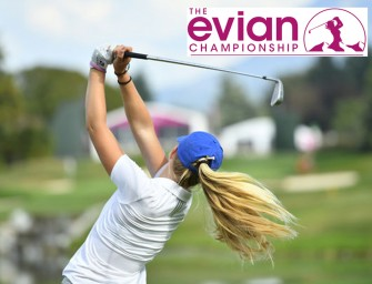 Evian Championship</br>Le Majeur en Juillet!