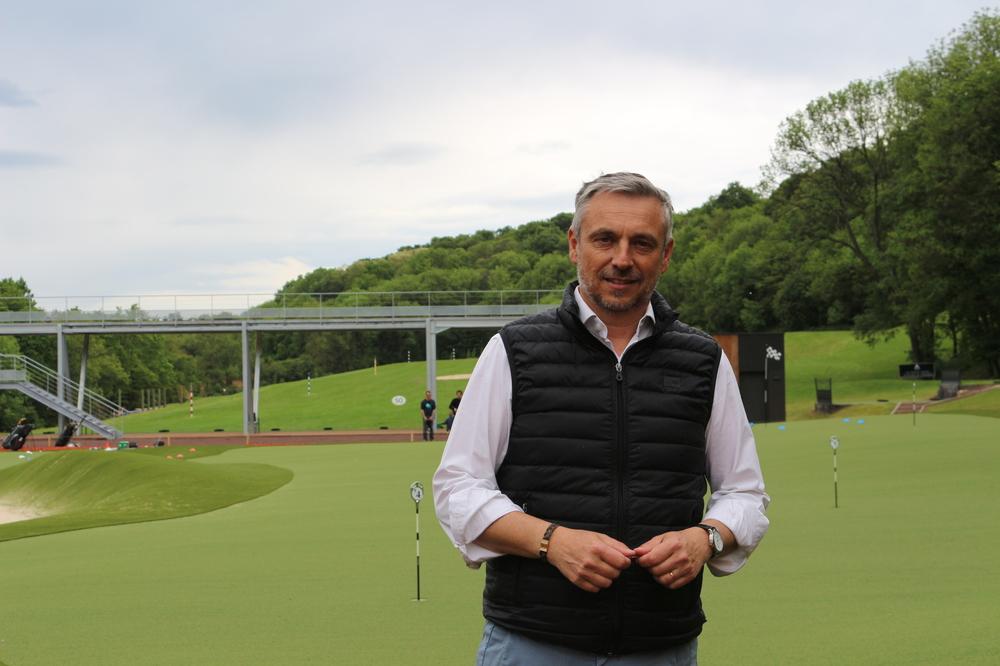 Philippe Venditelli, le propriétaire du Golf Lyon-Tassin et du Golf Hôtel de La Sorelle