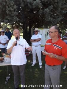 Eric Chapand , Directeur Général de l'OT de Valence,  l'un des partenaires majeurs du Pro-Am