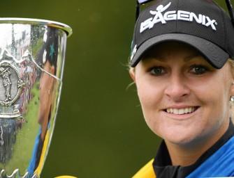 EvianChampionship</br>Anna Nordqvist, la victoire du courage
