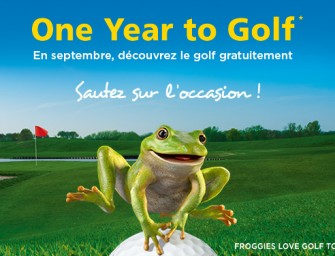 One Year to Golf:</br>A vos clubs