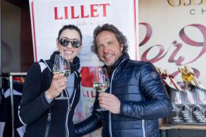 Philippe Guilhem, inventeur de l'événement et Maria Verchenova , co-organisatrice photo Daniel Durand