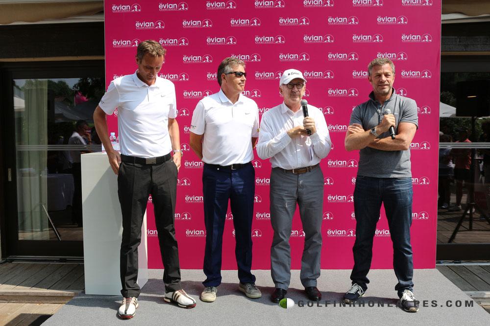 L'annonce de la création du Jabra Ladies Open Ie 30 Mai 2017 par Franck Riboud