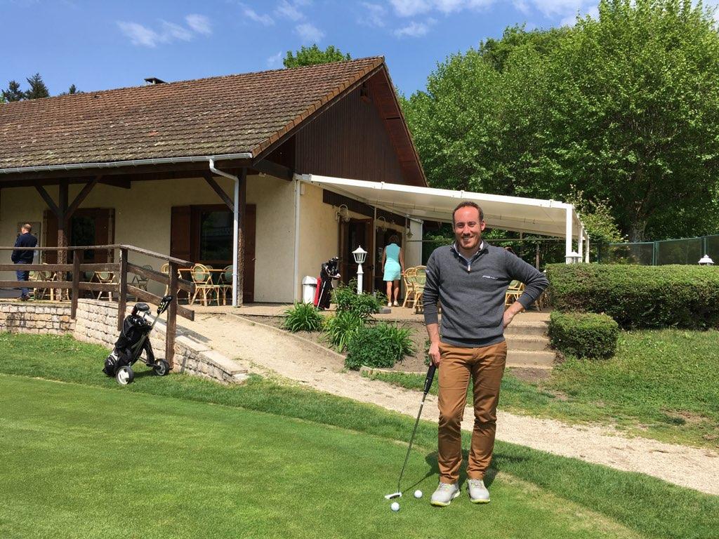 Fabien Mercier, un Pro à la barre du golf d'Uriage