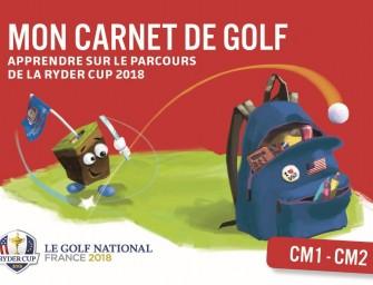 «Mon carnet de golf»</br>ludique et attrayant